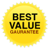 Best value guarantee.